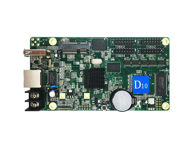 D10 HD-D10 rgb led sign controller card for Windows,Taxi, advertising led screen