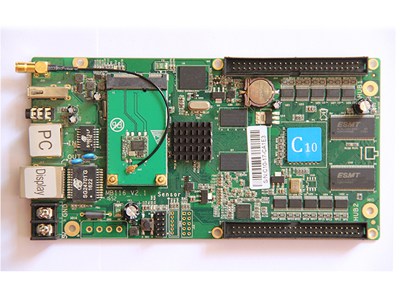 HD-C10 Full Color Asynchronous Control Card For LED display