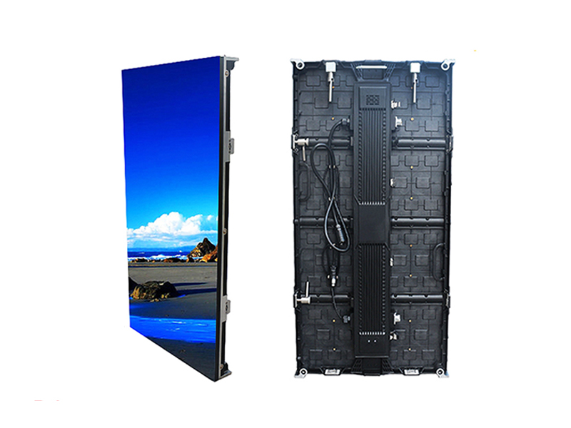 full color rental outdoor panel p4.81 led video wall